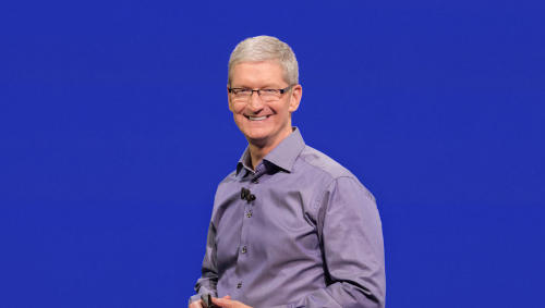 tim cook at apple's september 2015 event