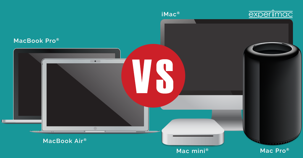 Considering a MacBook® Laptop or a Mac® Desktop? Pros and Cons to Keep in Mind
